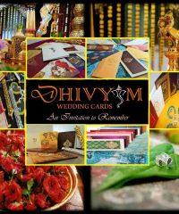 Dhivyam Wedding Cards